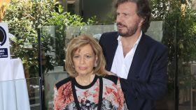 María Teresa Campos y Edmundo en imagen de archivo.
