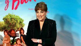 La actriz Carmen Maura en el estreno de 'Gente que viene y bah', dirigida por Patricia Font.