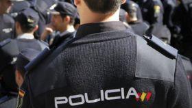 Un agente de la Policía Nacional, en una imagen de archivo.