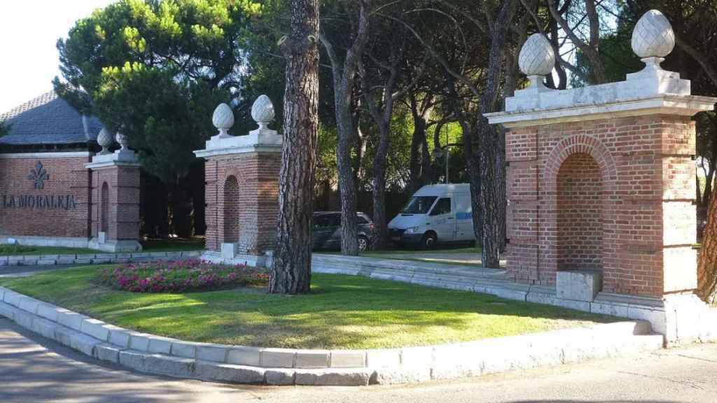 Una imagen del barrio de La Moraleja.