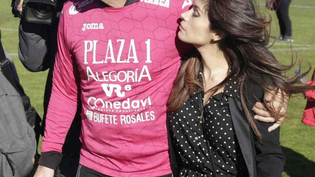 Miriam Saavedra y Carlos Lozano en una imagen de archivo