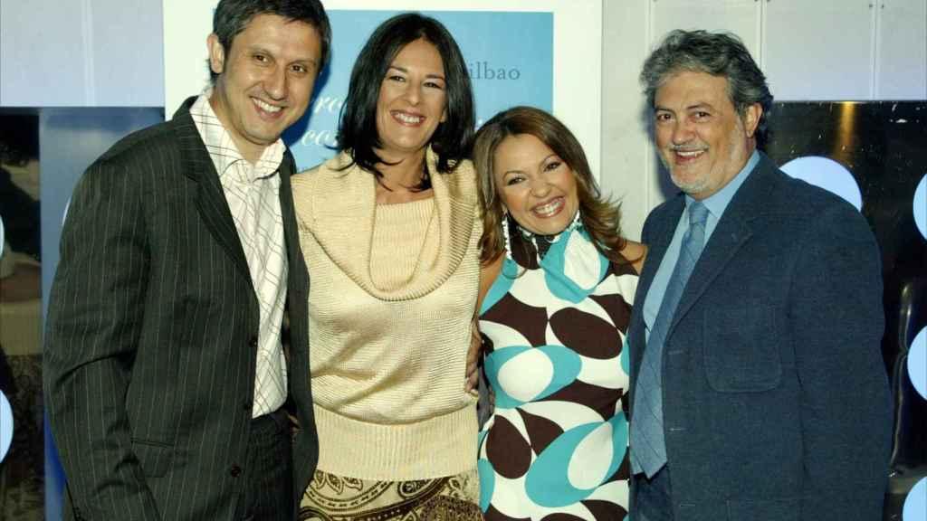 Juan Luis Alonso, Ángela Portero, Idoia Bilbao y Pepe Calabuig