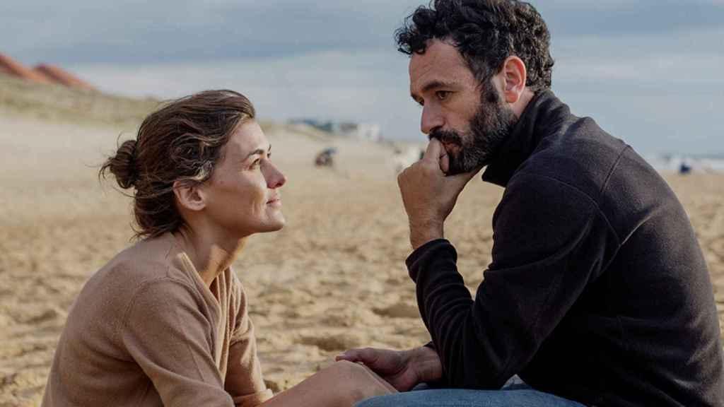 Sorogoyen y Marta Nieto en el rodaje de la película Madre.