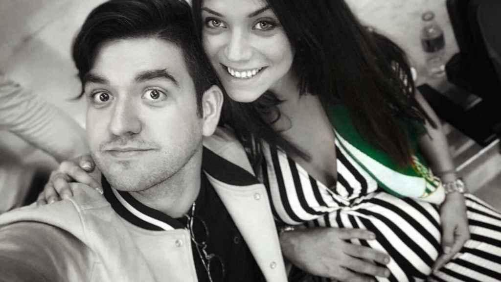 Manu Sánchez y Lorena Sánchez.