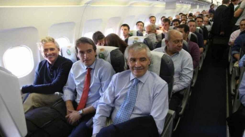 Francisco Pernía, expresidente del Racing. Foto: realracingclub.es