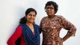 Kanaka Durga y Bindu Ammini, las dos mujeres que entraron en el templo.