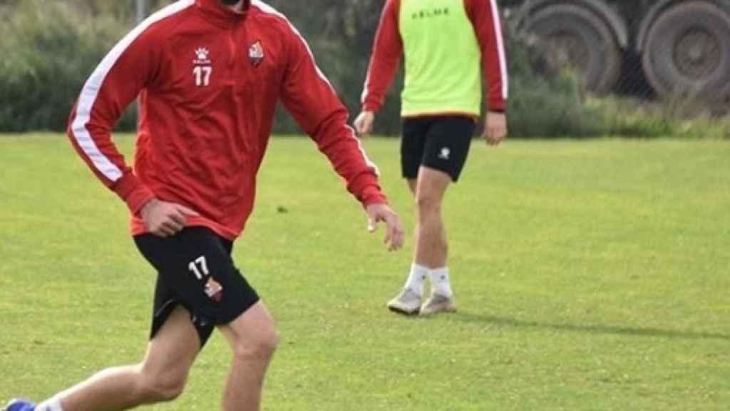 Isaac Cuenca, con el Reus. Instagram: (@cuencaisaac)
