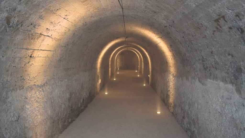 Hasta que se inició el proyecto 'Cuenca Subterránea', el refugio se utilizaba como almacén municipal.