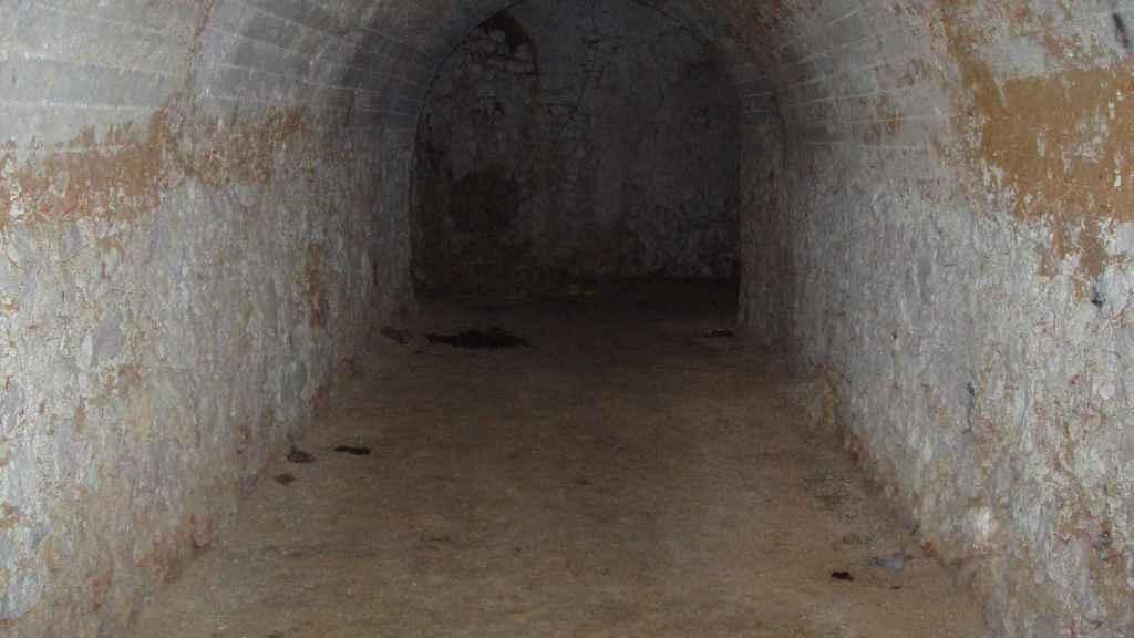 Estado del túnel antes de iniciarse el proceso de reacondicionamiento.