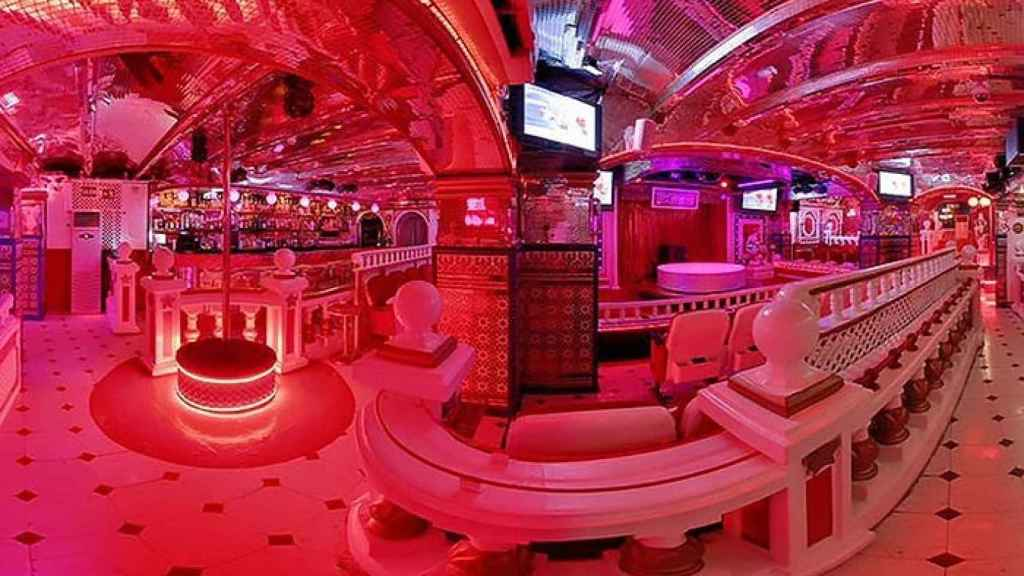 La Sala Bagdad, inspirada en los peep shows de Sankt Paulï