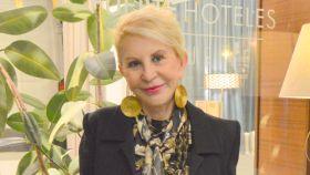 Karmele Marchante, en la entrevista en Marbella.