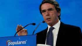 10 momentos, 10 frases, 10 imágenes del reencurntro de Aznar con el PP