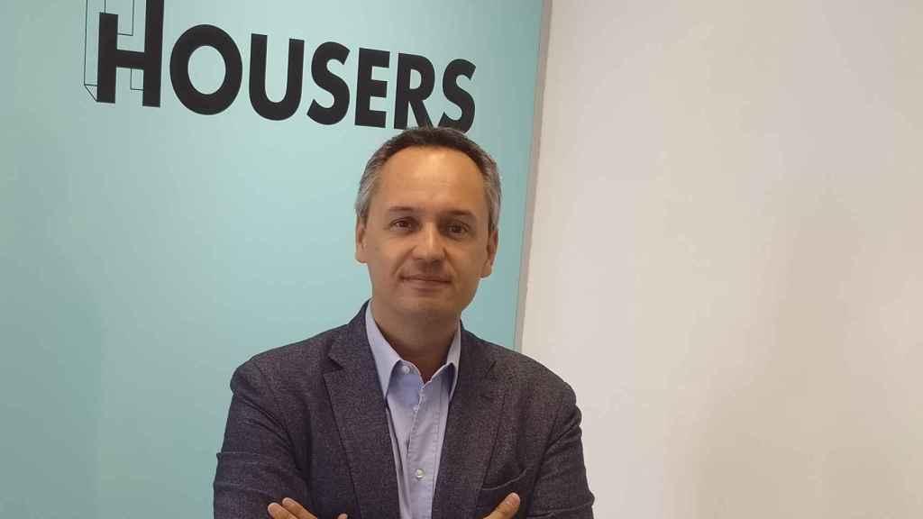 Juan Antonio Balcázar, CEO de Housers.