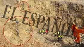 Foto exclusiva de la 'zona cero' del rescate de Julen: el pozo y el lugar de perforación