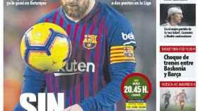 La portada del diario Mundo Deportivo (20/01/2019)