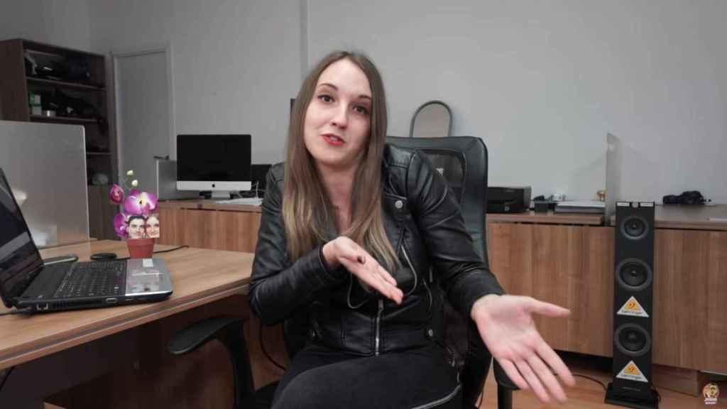 Verónica, la novia de Jordi 'El Niño Polla'.