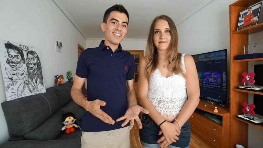 Jordi 'El Niiño Polla' y su novia, Verónica, en una imagen de hace meses.