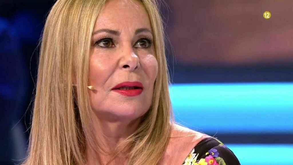 Ana Obregón en el programa 'Volverte a ver'