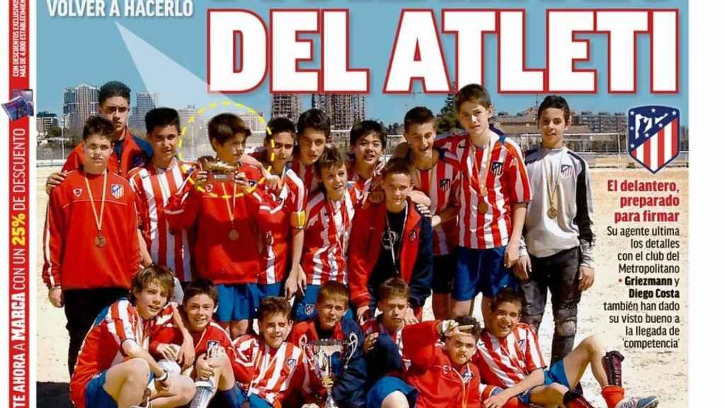 La portada del  diario Marca (22/01/2019)