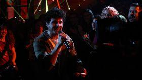 Miki, durante su actuación en la gala de Eurovisión.
