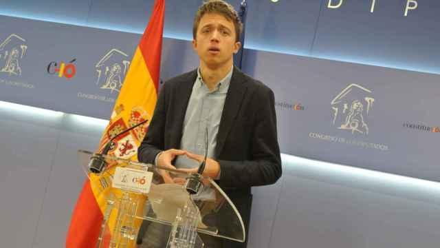 El líder de Más País, Íñigo Errejón, en una imagen de archivo.