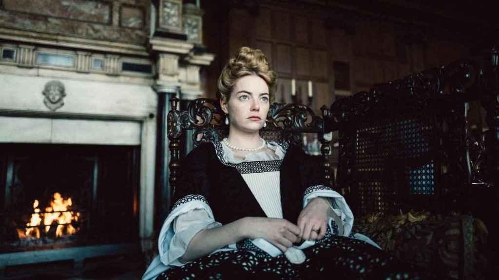 Emma Stone, nominada por La favorita.