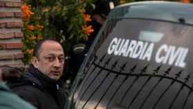 El coordinador del operativo de rescate, Ángel García, en una rueda de prensa.