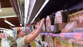 Una trabajadora de Mercadona en la Comunidad Valenciana / EP Photo.