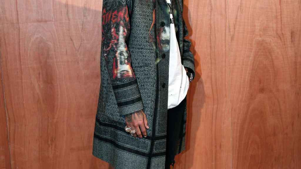 Chris Brown en una imagen de archivo