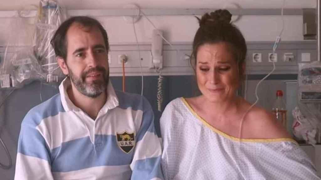 Verdeliss, confesando el problema de salud que la llevó al hospital.