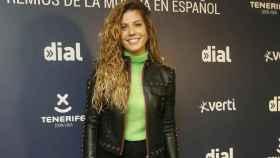Miriam Rodríguez en el evento de esta mañana.