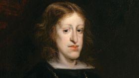 Carlos II retratado por Juan Carreño de Miranda.