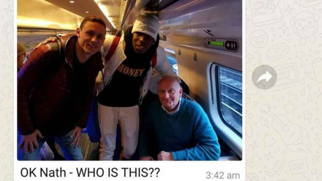 La simpática anécdota en un tren con Pogba y Matic de protagonistas