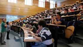 Alumnos en las pruebas de acceso a la Universidad