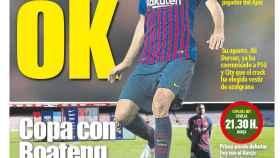 Portada Mundo Deportivo (23/01/19)