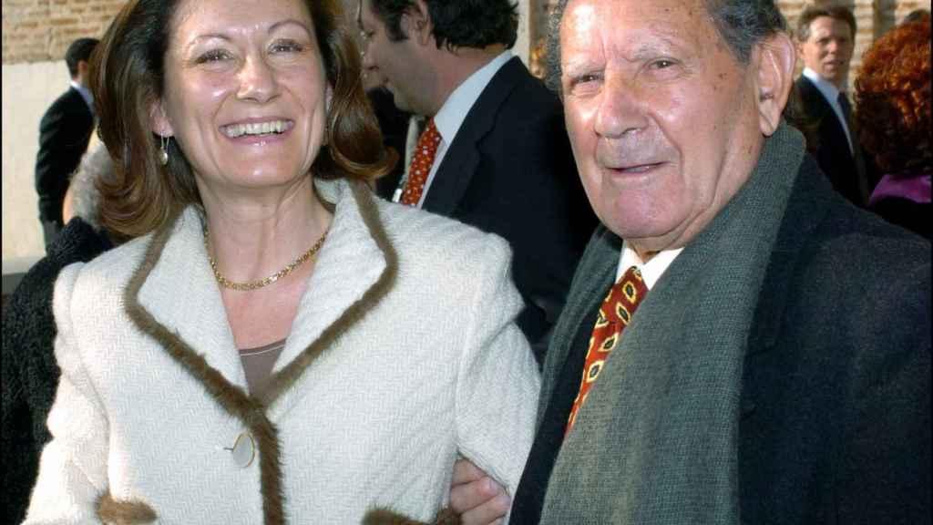 Paloma Rocasolano y su padre Francisco