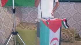 El  activista saharaui Husein Bachir Brahim, ahora condenado.