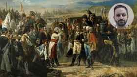 'La rendición de Bailén (de la tradición y de la historia)', un cuadro de José Casado; y Santiago Abascal