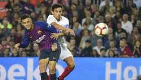 Imagen del partido de Copa del Rey.