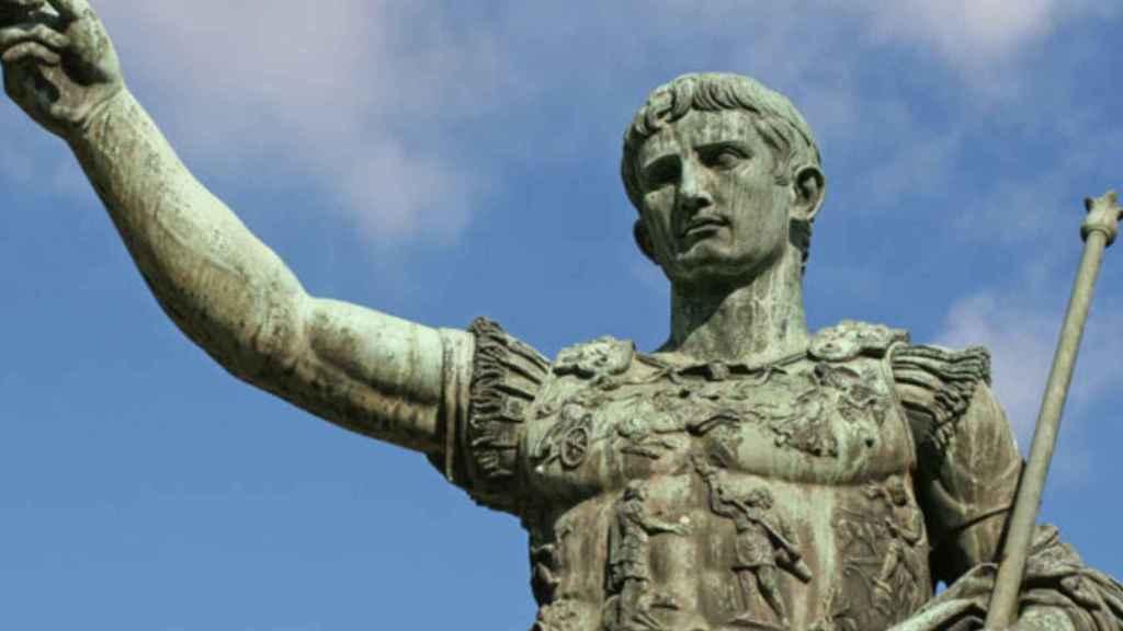 Estatua del emperador Calígula.