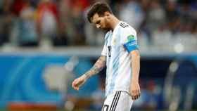 Messi, durante el pasado Mundial