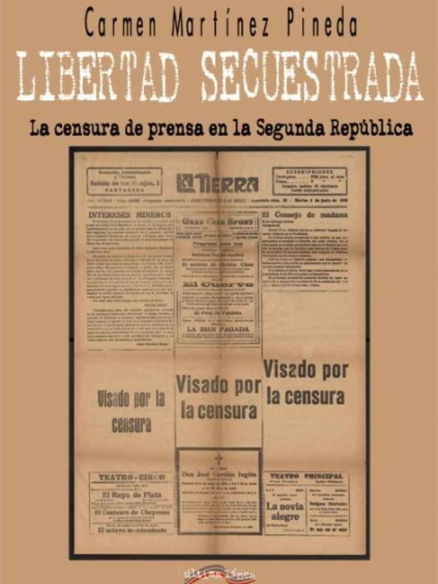 Portada de 'Libertad secuestrada'.