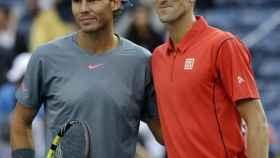 Djokovic y Nadal en la final del US Open 2013. Foto: novakdjokovic.com