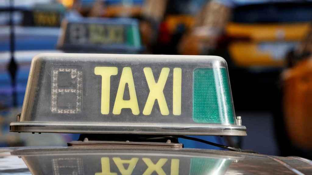 Taxi de Barcelona.