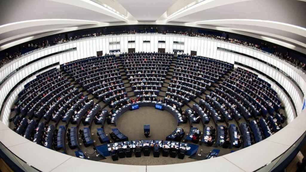 El Parlamento europeo, en Bruselas.