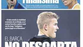 Portada del diario Mundo Deportivo (26/01/2019)