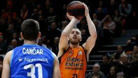 Valencia Basket - San Pablo Burgos. Foto: Twitter (@valenciabasket)