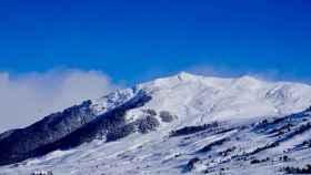 Imagen de la estación de esquí de Baqueira.