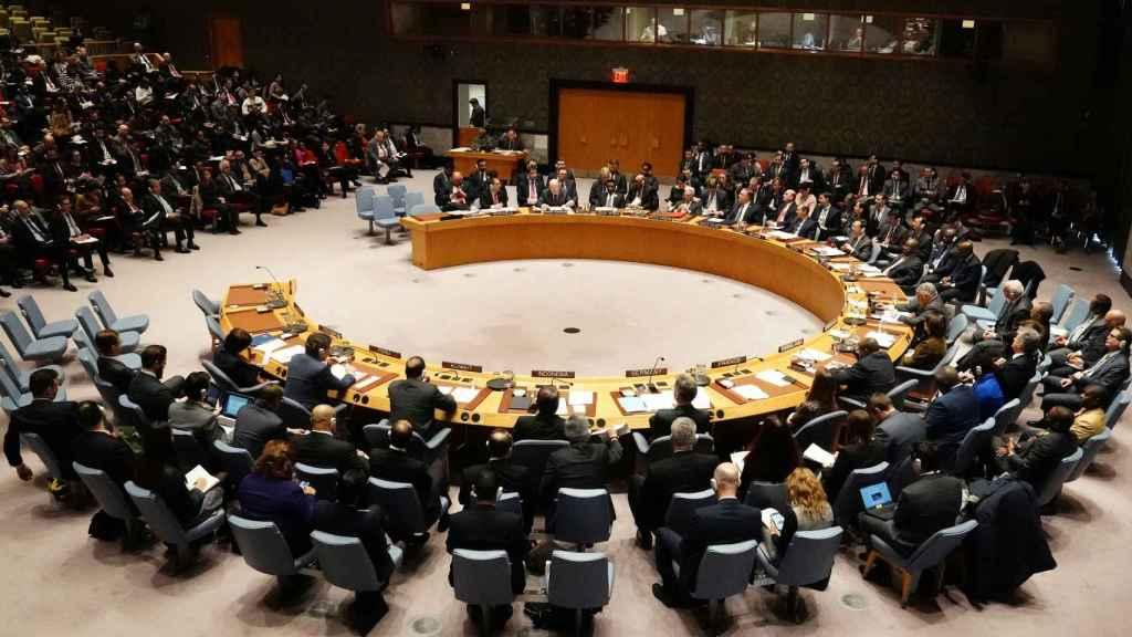 Reunión del Consejo de Seguridad de la ONU para tratar la crisis de Venezuela.
