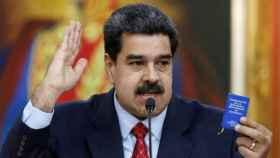 Nicolás Maduro durante su comparecencia
